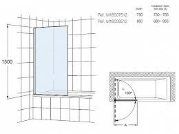 Roca Victoria M18008512 — <b>Шторка для ванны 80</b> см Roca ...