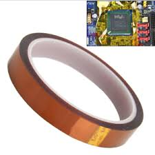 1x 40mm 33m 0 08mm 80um adhesive polyimide film tape bga smt pcb working high temperature resist tape