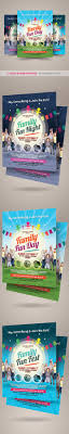 family fun day flyers vol on behance registration open for alternative family fun day flyers on behance fun poster templates