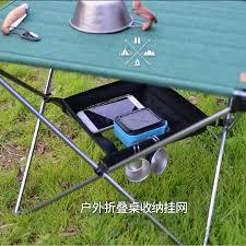 <b>Outdoor Folding Table Storage</b> Hanging Basket Wild Rack Camping ...