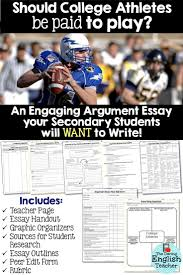 why college athletes should not get paid essay pay essay essay on the necklace