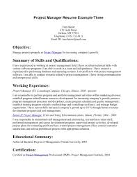 qualifications resume general resume objective examples resume qualifications resume resume objective good sample statements manage project properly as project manager resume objective