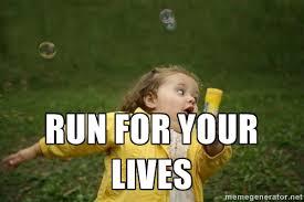 Memes Vault Little Girl Running Memes via Relatably.com