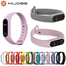 Online Shop <b>Mijobs</b> mi <b>band</b> 2 Accessories Pulseira Miband 2 <b>Strap</b> ...