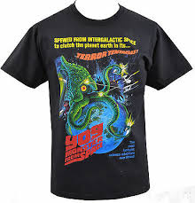 Мужские Sci-Fi <b>футболка</b> Yog монстр из космоса винтаж ужасов ...