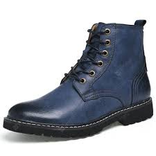 <b>AILADUN Men's Shoes</b> High-top Leather Casual Boots Large Size ...