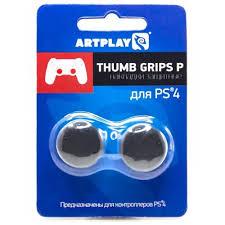<b>Накладка Artplays Thumb Grips</b> для PS4 Black ACPS4127, купить в ...