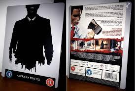 steelbook american psycho exclusivo de zavvi blu ray steelbook american psycho exclusivo de zavvi