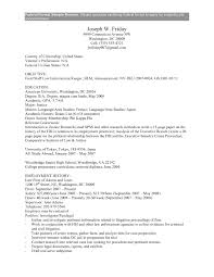 examples of resumes resume career objectives inside job  81 mesmerizing job resumes examples of