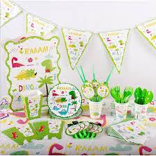 <b>Dinosaur Theme Birthday Party</b> Girls <b>Decoration</b> Tablecloth Cups ...