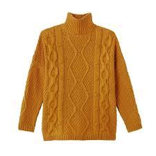 Пуловер с плетеным узором и воротником-стойкой <b>La Redoute</b> ...