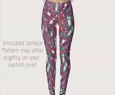 <b>Sequin Print Leggings</b>, <b>Yoga</b>, <b>Workout</b>, Exercise, Disco, <b>Glitter</b> ...