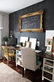 chalkboard paint wall beautiful home office chalkboard