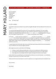 logistics manager cv template executive team leader cover letter