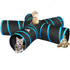 PAWABOO <b>5 Way Tunnels</b> Extensible <b>Collapsible Cat</b> Playing Tube ...