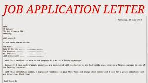application letter examples and guide how to write best letter application letter