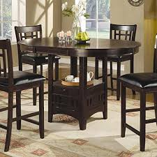quality oval modern dining table dining room dark cappuccino finish dining table sets with coaster coun