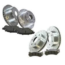 Front <b>Rear</b> Set 4 Drill Slotted Performance Rotors For <b>06</b>-07 ...