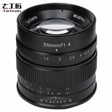 <b>7artisans 55mm F1.4</b> APS C Large Aperture Lens manual fixed ...