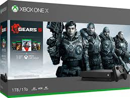 <b>Стационарная приставка Microsoft Xbox</b> One X с 1 ТБ памяти и ...