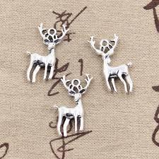 New Fashion Tibetan Silver Pendant Christmas <b>deer sika</b> Choker ...