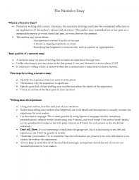 cover letter a narrative essay examples writing a narrative essay cover letter example of a narrative essay about yourself samplea narrative essay examples large size
