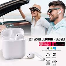 headset twin earbuds