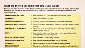 top employers skills communication skills employer skills top 10 employers skills communication skills employer skills