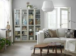 living room display gallery ikea a small livingroom furnished with a light beige two seat sofa and two