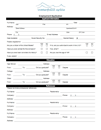 employment application waterfront grille employment application 2