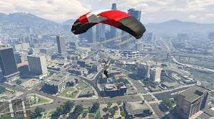 How to use a Parachute in <b>GTA 5</b>: A Step-by-Step guide for beginners