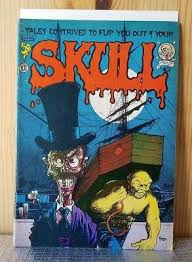 "<b>SKULL</b> #<b>6</b> ""A GOTHIC TALE"", LAST GASP 1972 1st <b>PRINTING</b> ..."
