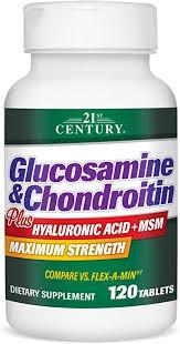 21st Century Glucosamine and Chondroitin Plus ... - Amazon.com