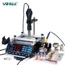<b>YIHUA 853AAA</b> 1270W Preheating <b>Station</b> PCB Preheater ...