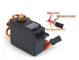 MG996R Servo <b>Motor</b> Datasheet, Wiring Diagram & Features