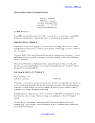 sample resume cover letter pharmaceutical sales pharmaceutical sales rep cover letter