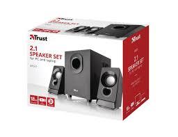 <b>Trust Argo 2.1 Subwoofer</b> Speaker Set | Speakers | Mouse ...