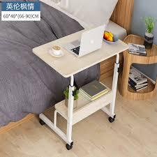 1pc <b>Laptop Table</b> Foldable Movable Bedside Desk Multifunctional ...