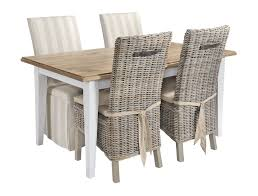 home wicker dining chairs