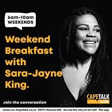 Weekend Breakfast with Sara-Jayne King
