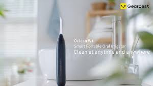 <b>Oclean W1 Smart Aerodynamics</b> Oral Irrigator Portable Dental Water ...