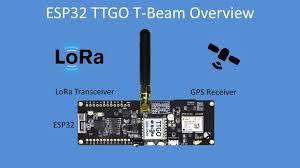 Tech Note 105 - <b>ESP32</b> based <b>TTGO T</b>-<b>Beam</b> LoRa + GPS - YouTube