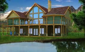 Lake House Plans   Specializing in lake home floor plansadirondack mountain house plan