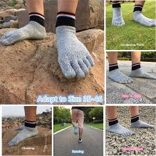<b>1 Pair Men Women</b> Wetsuit Shoes Cut Resistant Socks Diving ...