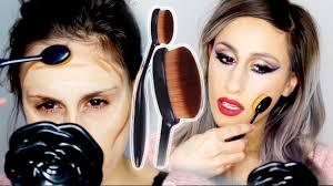ebay 99c toothbrush makeup brush dupe review demo