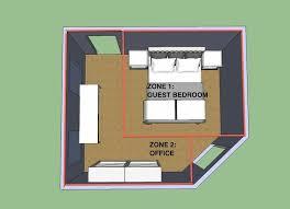 guest roomoffice combo bedroom office combo pinterest feng