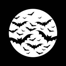 Bats In <b>Full Moon</b> Клипарты, векторы, и <b>Набор</b> Иллюстраций Без ...