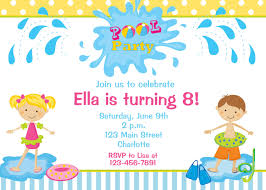 birthday party invitation template for children party invitation template party invitation template pages