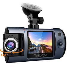 Dash Cam, TrekPow Full HD 1080P Car DVR Dashboard Camera ...