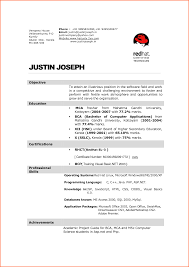 8 cv format for hotel industry event planning template career objective for resume for hotel management